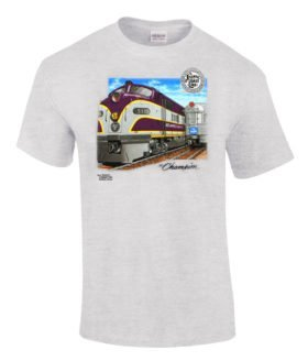 ACL Champions Authentic Railroad T-Shirt Tee Shirt