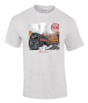 Norfolk and Western 611 Authentic Railroad T-Shirt Tee Shirt [10018]