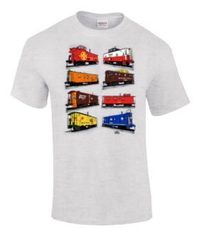 Caboose Authentic Railroad T-Shirt