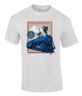 Baltimore & Ohio Pacific Authentic Railroad T-Shirt