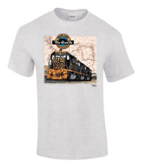 Rio Grande Tunnel Motors Authentic Railroad T-Shirt [10027]
