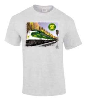 Southern Railway Crescent Limited Authentic Railroad Tee Shirt [10100]