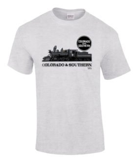 Colorado & Southern Authentic Railroad T-Shirt Tee Shirt
