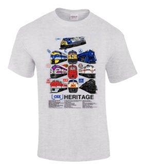 CSX Heritage Authentic Railroad T-Shirt