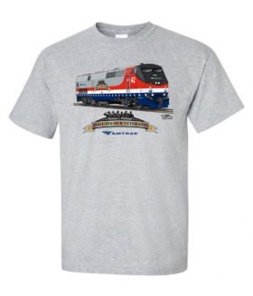 Amtrak Veterans Tribute Authentic Railroad T-Shirt [121]