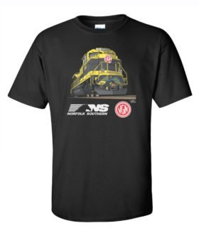 Virginian SD70ACe Authentic Railroad T-Shirt [124]