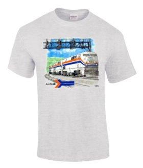 Amtrak Genesis Authentic Railroad T-Shirt