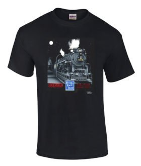 Nickel Plate 765 Authentic Railroad T-Shirt Tee Shirt