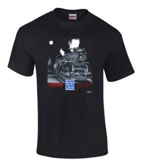Nickel Plate 765 Authentic Railroad T-Shirt Tee Shirt