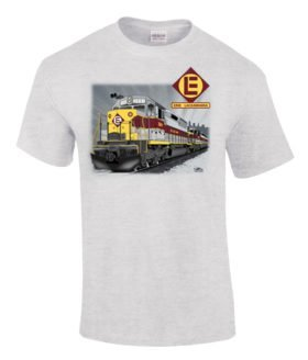 Erie Lackawanna SDP45 Authentic Railroad T-Shirt [02]