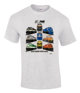 Norfolk Southern Southern Heritage Authentic Railroad T-Shirt [28]