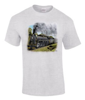 Reading T1 Authentic Railroad T-Shirt Tee Shirt