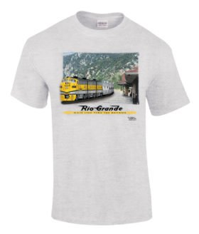 California Zephyr at Glenwood Authentic Railroad T-Shirt [63]