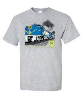 Delaware & Hudson PA4 Authentic Railroad T-Shirt Tee Shirt [66]