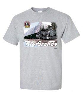Rio Grande #486 Authentic Railroad T-Shirt Tee Shirt