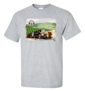 Geeps on the Fillmore Local Authentic Railroad T-Shirt