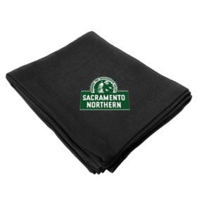 Sacramento Northern Railway Embroidered Stadium Blanket