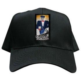 Amtrak Coast Starlight Embroidered Hat [hat106]