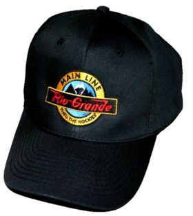 Denver and Rio Grande Main Line Embroidered Hat [hat12]