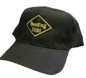 Reading Lines Railroad Embroidered Hat [hat40]