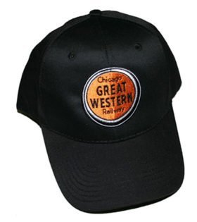 Chicago Great Western Railway Embroidered Hat [hat82]