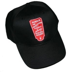 Bangor and Aroostook Railroad Embroidered Hat [hat84r]