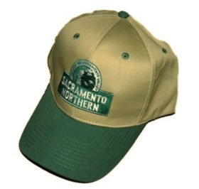 Sacramento Northern Railway Embroidered Hat [hat97]