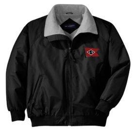 Lehigh Valley Railroad Black Diamond Logo Embroidered Jacket [104]