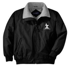 Illinois Central Split Rail Logo Embroidered Jacket [58]