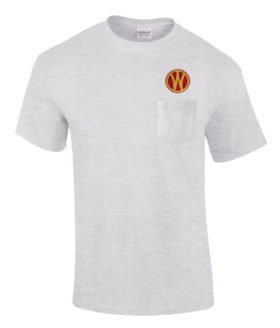 New York Ontario and Western Railway Embroidered Pocket Tee [p108]