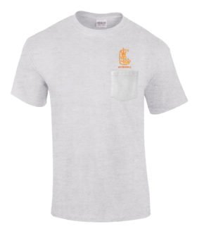 West Side Lumber Company Railway Embroidered Pocket Tee [p111]