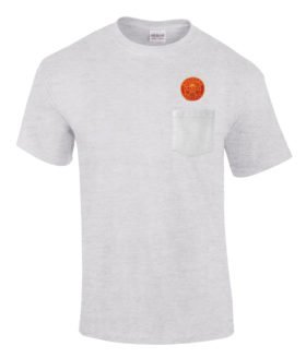 Southern Pacific Golden Sunset Embroidered Pocket Tee [p50]