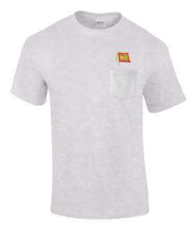Wabash Railroad Embroidered Pocket Tee [p55]