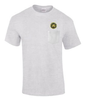 Seaboard Coast Line Railroad Embroidered Pocket Tee [p79]