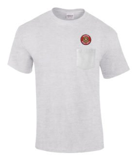 Pacific Electric Railway Embroidered Pocket Tee [p94]