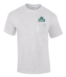 Sacramento Northern Railway Embroidered Pocket Tee [p97]