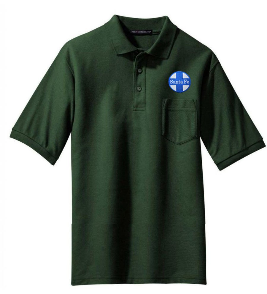 WP California Zephyr Embroidered Polo White Adult 2XL [15]