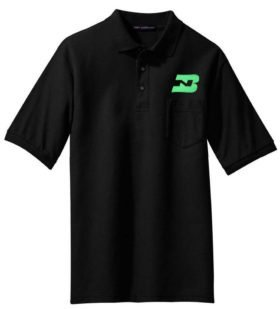 CN Noodle Logo Embroidered Polo  [45]