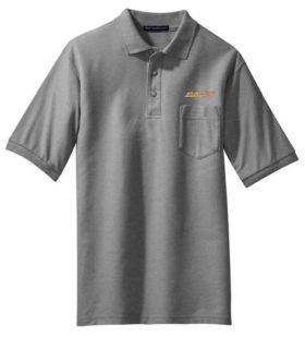 Union Pacific Logo Embroidered Polo White Adult 2XL [47]