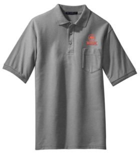 Wabash Railroad Embroidered Polo White Adult 2XL [55]