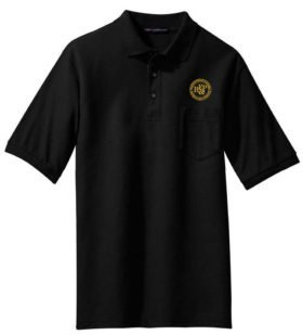 KCS Lines Logo Embroidered Polo  [98]