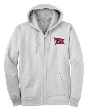 Lehigh Valley Railroad Black Diamond Logo Zippered Hoodie Sweatshirt [104]