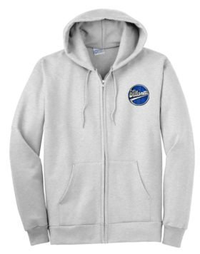 Williamette Logging Locomotives Zippered Hoodie Sweatshirt [109]