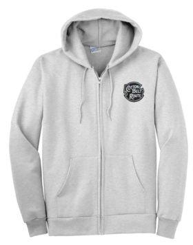 St. Louis Southwestern Railway Zippered Hoodie Sweatshirt [110]