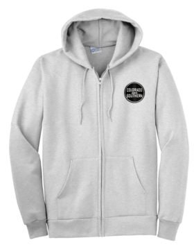 Colorado and Southern Railway Zippered Hoodie Sweatshirt [113]