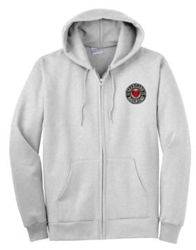 Seaboard Air Line Railroad Zippered Hoodie Sweatshirt [116]