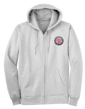 Atlantic Coast Line Zippered Hoodie Sweatshirt [14]