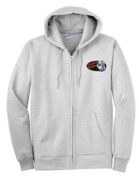 Western Pacific California Zephyr Zippered Hoodie Sweatshirt [15]