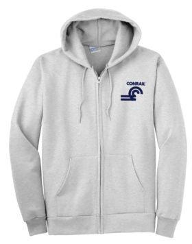 Conrail Herald Zippered Hoodie Sweatshirt [23]