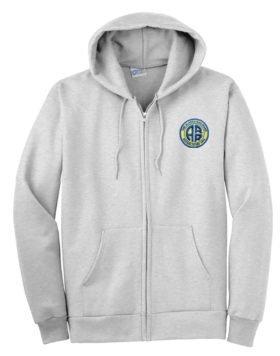 Alaska Railroad Zippered Hoodie Sweatshirt [26]